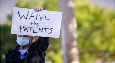 Waive patent